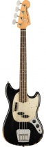 Fender Jmj Road Worn Mustang Bass Black