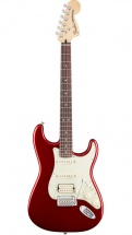 Fender Mexican Deluxe Stratocaster Hss Pf Candy Apple Red