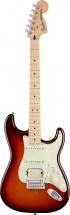 Fender Mexican Deluxe Stratocaster Hss Mn Tobacco Sunburst + Housse