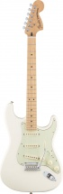 Fender Mexican Deluxe Roadhouse Stratocaster Mn Olympic White + Housse