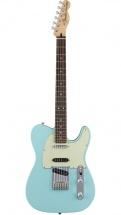 Fender Mexican Deluxe Nashville Telecaster Pf Daphne Blue