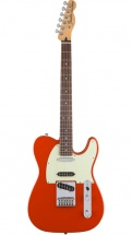 Fender Mexican Deluxe Nashville Telecaster Pf Fiesta Red