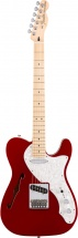 Fender Deluxe Telecaster Thinline Mn Candy Apple Red