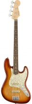 Fender Ltd Lightweight Ash American Professional Jazz Bass Sienna Sunburst Rw