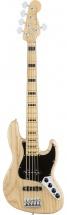Fender American Elite Jazz Bass V Ash Mn Natural + Etui