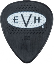 Evh Evh Signature Picks, Black/white, .88 Mm, 6