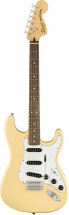 Squier By Fender Stratocaster 70s Vintage White Vintage Modified