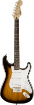 Squier By Fender Bullet Strat - Brown Sunburst