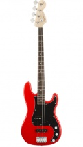 Squier By Fender Affinity Series Precision Bass Pj Race Red