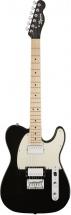 Squier By Fender Contemporary Telecaster Hh Maple Fingerboard Black Metallic