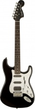 Squier By Fender Black & Chrome Fat Stratocaster Black