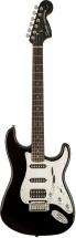 Squier By Fender Black & Chrome Fat Stratocaster Black