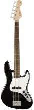 Squier By Fender Affinity Series Jazz Bass V Laurel Fingerboard Black