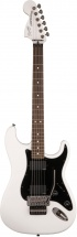 Squier By Fender Contemporary Active Stratocaster Hh Laurel Fingerboard Olympic White