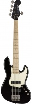 Squier By Fender Contemporary Active Jazz Bass V Hh Maple Fingerboard Black