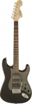 Squier By Fender Affinity Series Stratocaster Hss Laurel Fingerboard Montego Black Metallic