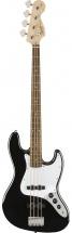 Squier By Fender Affinity Series Jazz Bass Laurel Fingerboard Black