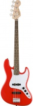 Squier By Fender Affinity Series Jazz Bass Laurel Fingerboard Race Red