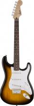 Squier By Fender Bullet Stratocaster Hard Tail Laurel Fingerboard Brown Sunburst