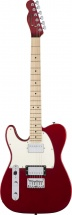 Squier By Fender Contemporary Telecaster Hh Left-handed Maple Fingerboard Dark Metallic Red
