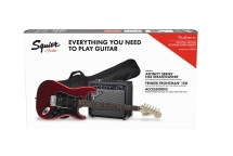Squier By Fender Affinity Series Stratocaster Hss Pack Laurel Fingerboard Candy Apple Red Gig Bag 15g - 230v Eu