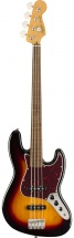 Squier By Fender Classic Vibe \'60s Jazz Bass Fretless 3-color Sunburst
