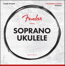 Fender Soprano Ukulele Strings Set Of Four
