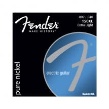 Fender Original 150, Pure Nickel Wound, à Boule, 150xl .009-.040, (jeu De 6 Cordes)