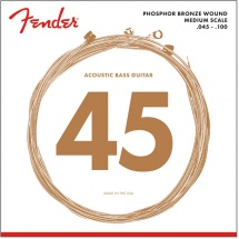 Fender 7060, Phosphor Bronze, .45-.100 Tirant, (jeu De 4 Cordes)