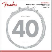 Fender Par 7250 , Nickel Plated Steel, Long Scale, Par 7250-5l .040-.115,(jeu De 5 Cordes)