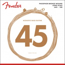 Fender 8060, Phosphor Bronze, Long Scale, .45-.100 Tirant, (jeu De 4 Cordes)