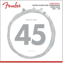Fender 8250 , Nickel Plated Steel Taperwound, Long Scale, 8250m .045-.110 Tirant, (jeu De 4 Cordes)