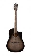 Fender T Bucket 300ce Trans Black Flame Maple