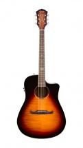 Fender T Bucket 300ce Sunburst Flame Maple