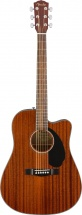 Fender Cd-60sce Dreadnought Walnut Fingerboard All-mahogany