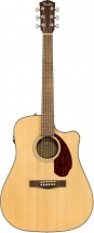 Fender Cd-140sce Dreadnought Wn Natural W/case