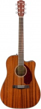 Fender Cd-140sce Dreadnought Wn All-mahogany W/case