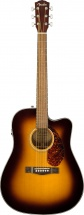 Fender Cd-140sce Dreadnought Wn Sunburst W/case