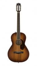 Fender Pm-2e Parlor Limited Ovangkol Fingerboard Aged Cognac Burst W/case