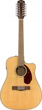 Fender Cd-140sce 12-string Wn Natural W/case