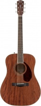 Fender Pm-1 Dreadnought Ovangkol Fingerboard All-mahogany W/case
