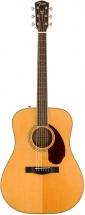 Fender Pm-1e Standard Dreadnought Ovangkol Fingerboard Natural W/case