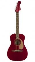 Fender Malibu Player Walnut Fingerboard Candy Apple Red