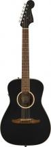 Fender Malibu Special Pau Ferro Fingerboard Matte Black W/bag