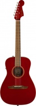 Fender Malibu Classic Pau Ferro Fingerboard Hot Rod Red Metallic W/bag