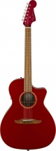 Fender Newporter Classic Pau Ferro Fingerboard Hot Rod Red Metallic W/bag
