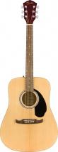 Fender Fa-125 Dreadnought W/bag Wln Natural