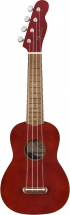 Fender Venice Soprano Uke Walnut Fingerboard Cherry