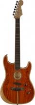 Fender American Acoustasonic Strat Ebony Fingerboard Cocobolo