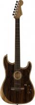 Fender American Acoustasonic Strat Ebony Fingerboard Ziricote